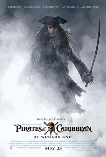 Download Pirates of the Caribbean At World's End 2007 Hindi Dual Audio BRRip 300MB