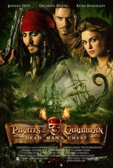 Download Pirates of the Caribbean Dead Man's Chest 2006 Hindi Dual Audio Bluray 300MB