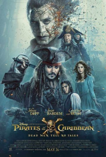 Download Pirates of the Caribbean Dead Men Tell No Tales 2017 Dual Audio HEVC 300MB