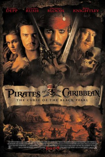Download Pirates of the Caribbean The Curse of the Black Pearl 2003 Hindi Dual Audio 480p Bluray 300MB