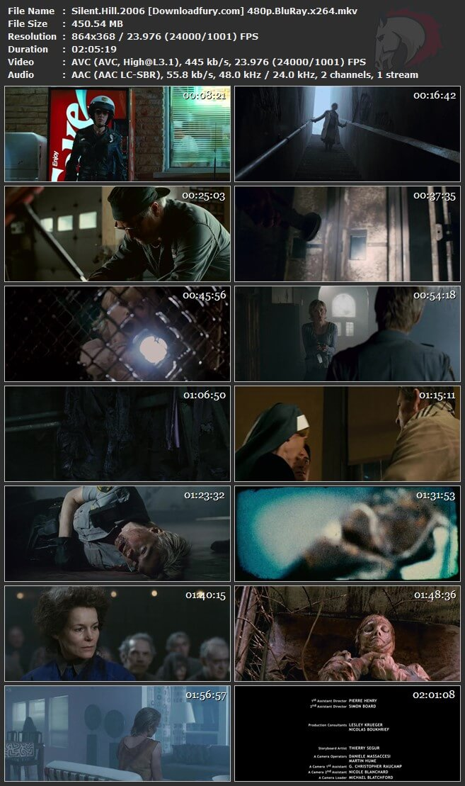 Silent Hill 2006 480p Bluray 300mb Download Fury