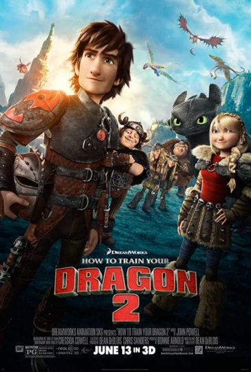 Download How To Train Your Dragon 2 2014 Dual Audio Hindi 480p BluRay 300MB