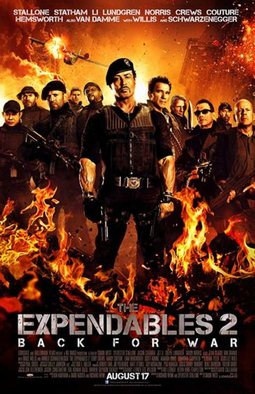 Download The Expendables 2 2012 Dual Audio Hindi English 480p BluRay 300MB