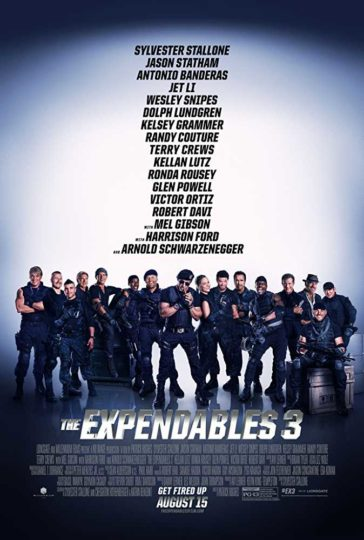 Download The Expendables 3 2014 Dual Audio Hindi English 480p BluRay 300MB