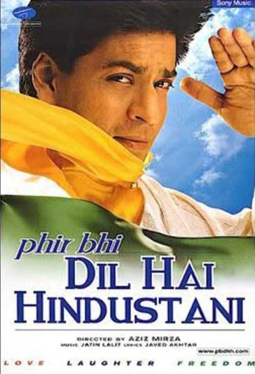 Download Phir Bhi Dil Hai Hindustani 2000 480p WEB-DL 300MB