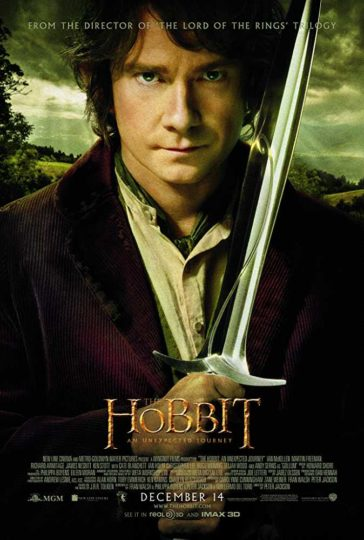 Download The Hobbit An Unexpected Journey 2012 Dual Audio Hindi 480p BluRay 300MB