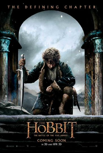 Download The Hobbit The Battle of The Five Armies 2014 Dual Audio Hindi 480p BluRay 300MB