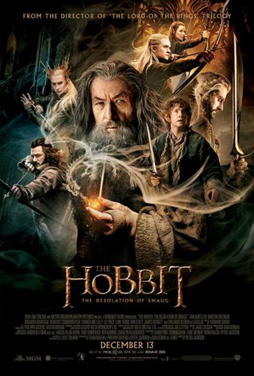 Download The Hobbit The Desolation Of Smaug 2013 Dual Audio Hindi 480p BluRay 300MB