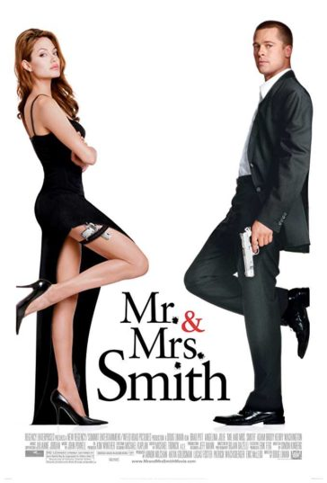 Download Mr. & Mrs. Smith 2005 480p Dual Audio Hindi English HDRip 300MB