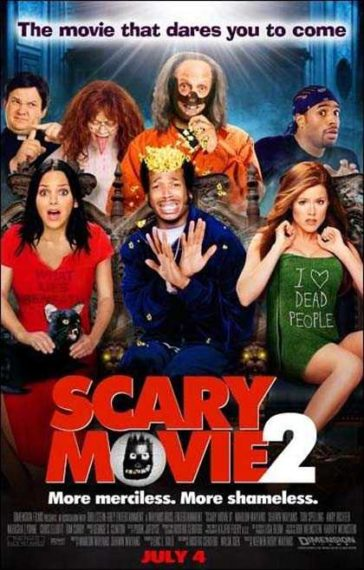 Download Scary Movie 2 2001 UNRATED Dual Audio Hindi English 480p BluRay 300MB