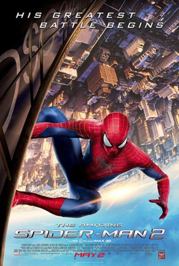 Download The Amazing Spider-Man 2 2014 480p BluRay Dual Audio Hindi English 300MB