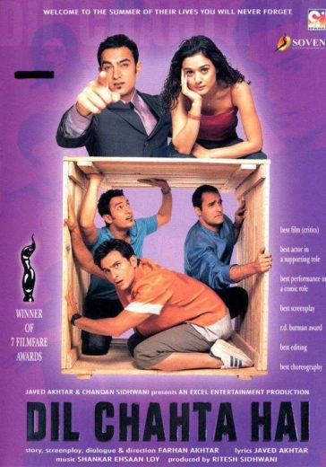 Download Dil Chahta Hai 2001 BRRip Hindi 480p 300MB