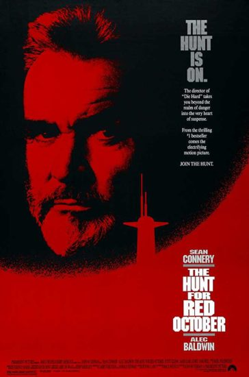 Download The Hunt for Red October 1990 480p BRRip Dual Audio Hindi English 300MB