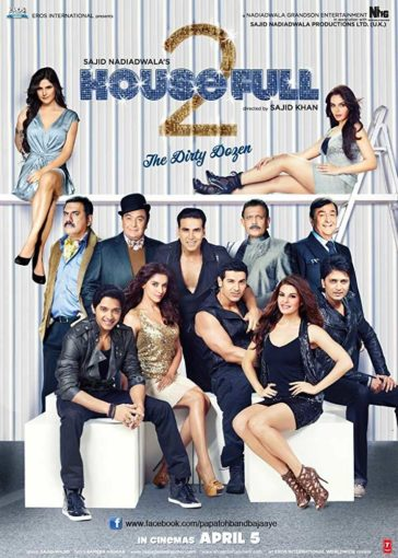 Download HouseFull 2 2012 Hindi 480p BluRay 300MB