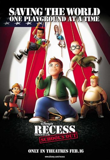 Download Recess Schools Out 2001 Dual Audio Hindi English 480p HDRip 300MB