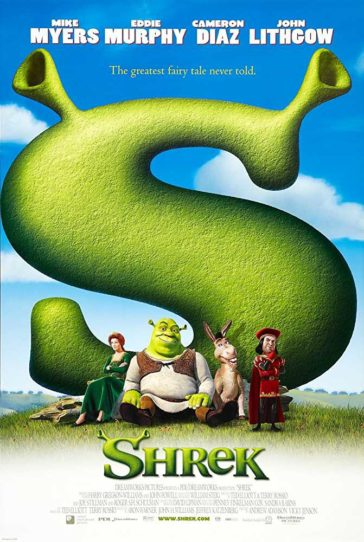 Download Shrek 2001 480p BluRay Dual Audio Hindi English 300MB
