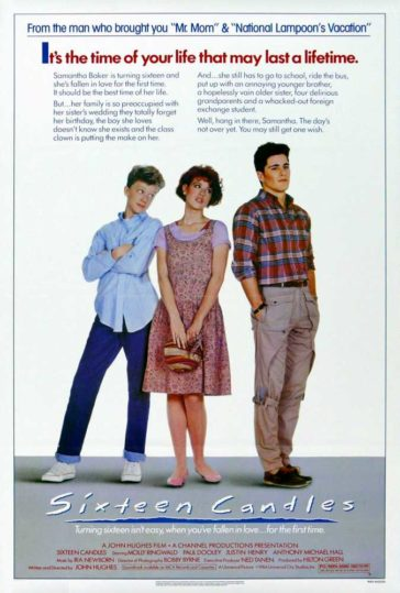 Download 18+ Sixteen Candles 1984 480p BluRay Dual Audio 300MB