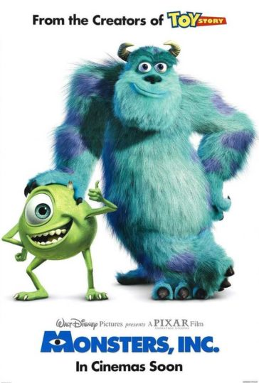 Download Monsters Inc 2001 480p BDRip Dual Audio Hindi English 300MB