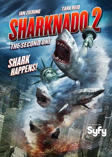 Download Sharknado 2 The Second One 2014 Hindi Dubbed 480p BRRip 300MB