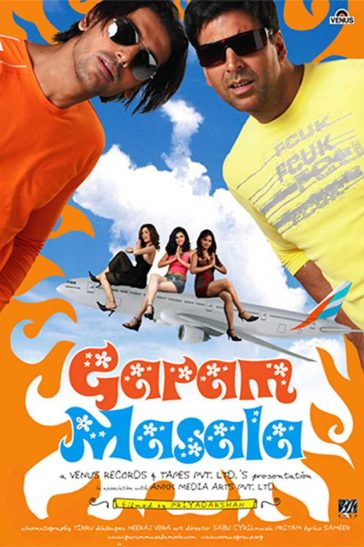 Download Garam Masala 2005 Hindi 480p DvDRip 300MB
