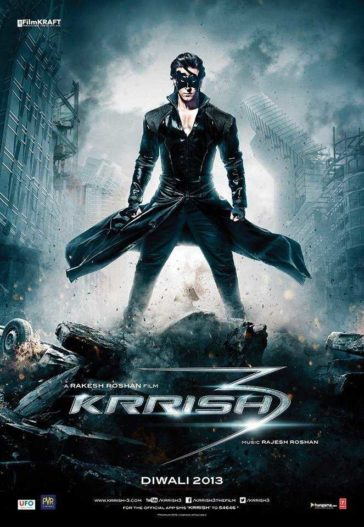 Download Krrish 3 2013 Hindi 480p BluRay 300MB