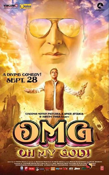Download OMG Oh My God 2012 Hindi 480p DvDRip 300MB
