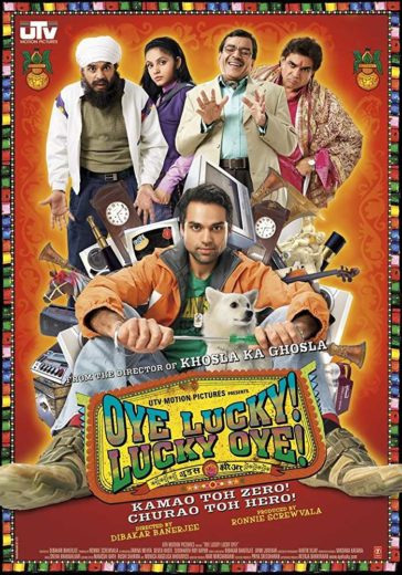 Download Oye Lucky! Lucky Oye! 2008 Hindi 480p BluRay 300MB