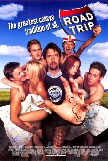 Download Road Trip 2000 UNRATED 480p Dual Audio Hindi English BRRip 300MB