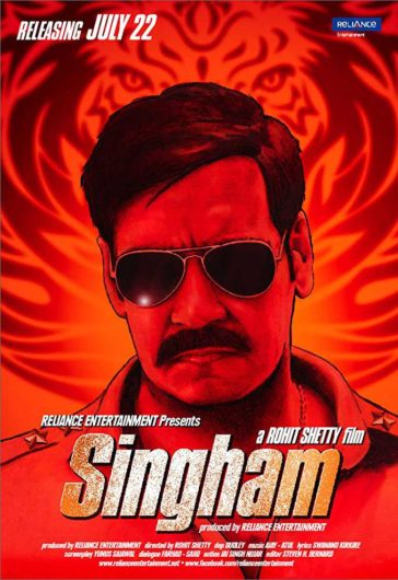 Download Singham 2011 Hindi 480p BRRip 300MB