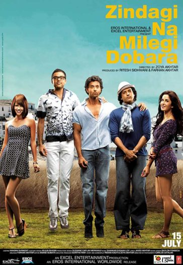 Download Zindagi Na Milegi Dobara 2011 Hindi 480p BluRay 300MB