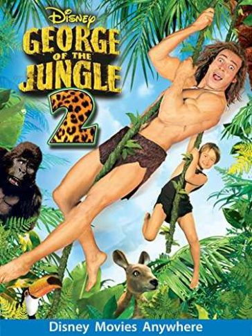Download George of the Jungle 2 2003 480p BDRip Dual Audio Hindi English 300MB