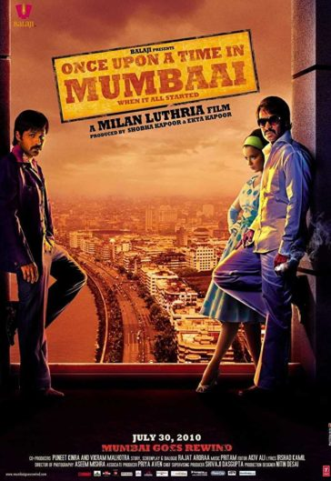 Download Once Upon a Time In Mumbai 2011 Hindi 480p DVDRip 300MB