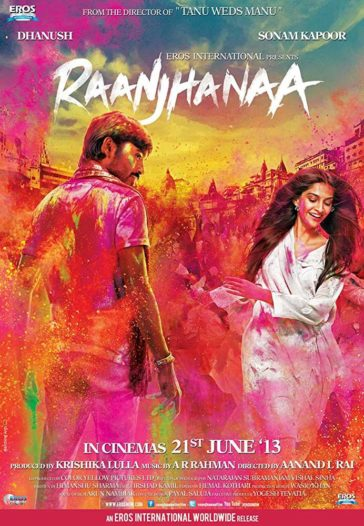 Download Raanjhanaa 2013 Hindi 480p BluRay 300MB