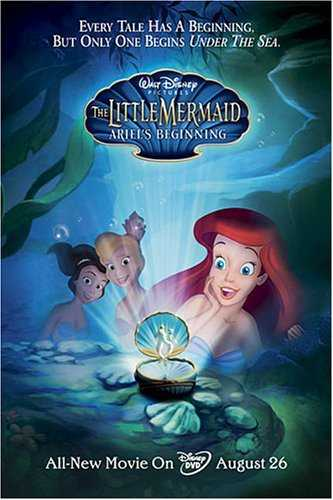 Download The Little Mermaid Ariel's Beginning 2008 480p BDRip Dual Audio Hindi English 300MB