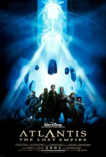 Download Atlantis The Lost Empire 2001 720p BDRip Dual Audio Hindi English 700MB