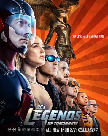 Download DC's Legends of Tomorrow Season 2 Complete 720p HDTV 200MB Each