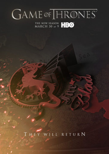 Download Game of Thrones Season 4 Complete 720p BluRay HEVC 300MB Each