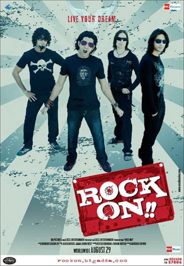 Download Rock On!! 2008 Hindi 480p BRRip 300MB
