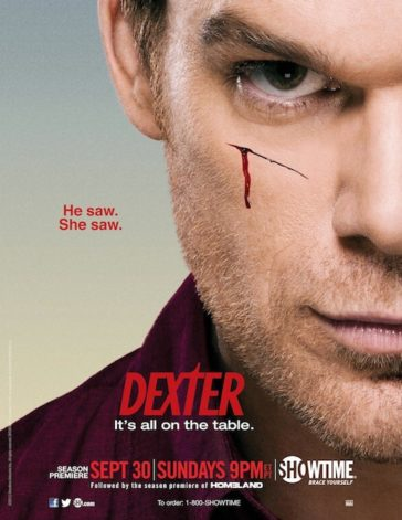 Download Dexter Season 07 BluRay 480p 200MB Each