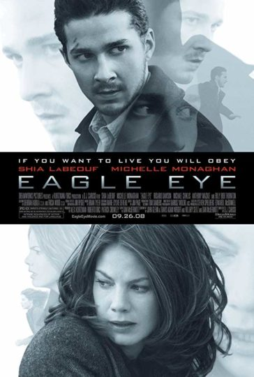 Download Eagle Eye 2008 480p BDRip Dual Audio Hindi English 300MB