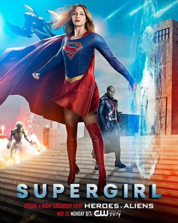 Download Supergirl Season 02 BluRay 480p HDTV 150MB Each