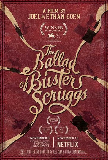 Download The Ballad of Buster Scruggs 2018 English 480p WEB-DL 300MB