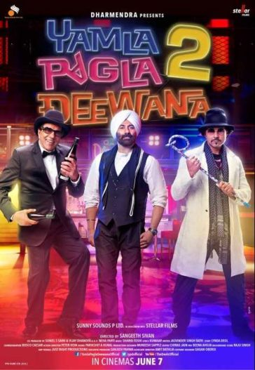 Download Yamla Pagla Deewana 2 2013 Hindi 480p BluRay 300MB