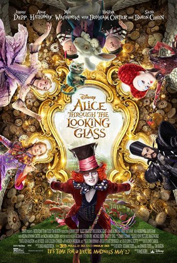 Download Alice Through The Looking Glass 2016 480p BluRay Dual Audio Hindi English 300MB