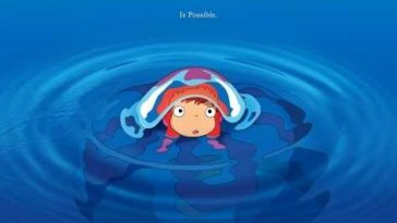 Download Ponyo 2008 480p BluRay Dual Audio English Hindi 300MB
