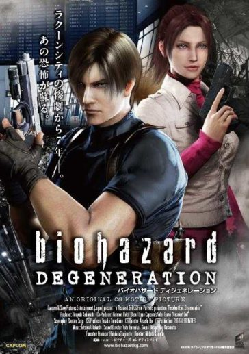 Download Resident Evil Degeneration 2008 720p BluRay Dual Audio English Hindi 700MB
